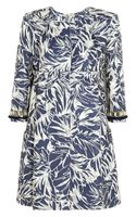 Matthew Williamson Cottonblend Floraljacquard Jacket - Lyst