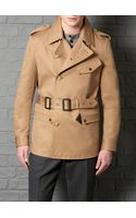 Farrell Slim Fit Camel Cropped Dispatch Jacket