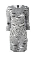 McQ by Alexander McQueen Houndstooth Print Dress - Lyst