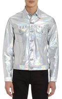Naked & Famous Denim Jacket Hologram - Lyst