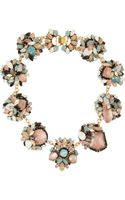 Erickson Beamon Girls On Film Goldplated Swarovski Crystal Necklace - Lyst