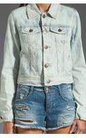Free People Denim Jacket - Lyst