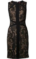 Ml Monique Lhuillier Crochet Dress - Lyst