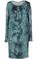 Angelo Marani Short Dress - Lyst
