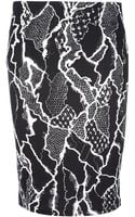 McQ by Alexander McQueen Fitted Pencil Skirt - Lyst