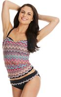 Gottex D Cup Party Time Ruffled Underwire Swim Top - Lyst