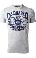 DSquared2 Logo Tshirt - Lyst