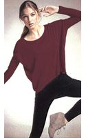 C&c California Long Sleeve Hilo Square Top - Lyst