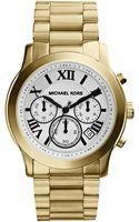 Michael Kors Cooper Goldtone Chronograph Watch - Lyst