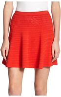 Theory Rortie Textured Knit Skirt - Lyst