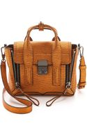3.1 Phillip Lim Pashli Mini Satchel Copper - Lyst