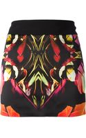 Barbara Bui Printed Skirt - Lyst