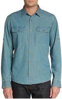 Michael Kors Denim Shirt - Lyst