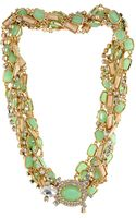 Kate Spade Land Sea Twist Statement Necklace - Lyst
