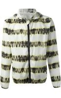 MSGM Striped Jacket - Lyst