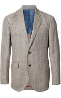 Hackett Check Blazer - Lyst