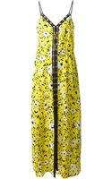 MICHAEL Michael Kors Floral Print Dress - Lyst