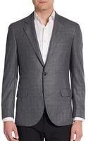 Brunello Cucinelli Checked Cashmere Jacket - Lyst