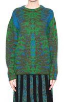 M Missoni Jacquard Mohair Wool Pull - Lyst