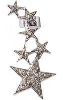 Pixie Market Shooting Star Diamond Ear Cuff - Lyst