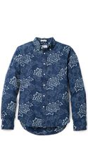 Gant Rugger Indigo Oxford Shirt - Lyst