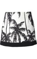 Fausto Puglisi Palm Tree Mini-skirt - Lyst