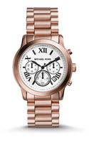 Michael Kors Cooper Rose Goldtone Stainless Steel Chronograph Bracelet Watch - Lyst