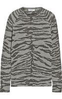 Equipment Sloane Intarsia Wool-blend Sweater - Lyst