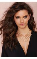 Nasty Gal Make A Point Collar Necklace - Lyst