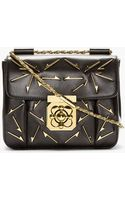 Chloé Black Leather Arrow Elsie Small Shoulder Bag - Lyst