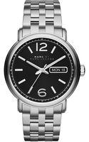 Marc By Marc Jacobs Fergus Stainless Steel Bracelet Watch - Lyst