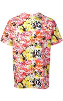 Jil Sander Abstract Printed Tshirt - Lyst