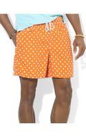 Polo Ralph Lauren Traveler Dotted Swim Shorts - Lyst