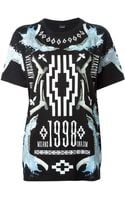 Marcelo Burlon County Of Milan Printed T-shirt - Lyst