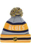 New Era St Louis Blues Jake Pom Knit Hat - Lyst