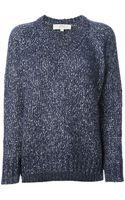 Vanessa Bruno Athé Intarsia Knit Sweater - Lyst