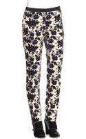 Tory Burch Dayton Floral-print Pants - Lyst