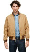 Club Monaco Golden Bear Varsity Jacket - Lyst