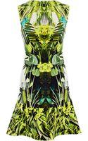 Karen Millen Vivid Jungle Print Dress - Lyst