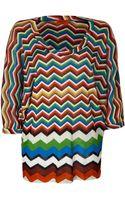 Missoni Mare Zigzag Knit Tunic - Lyst