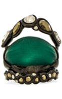 Alexis Bittar Crystal Lace Stack Ring - Lyst