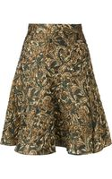 Dolce & Gabbana Embroidered Skirt - Lyst