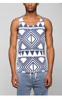Native Youth Reverse Print Tank Top - Lyst
