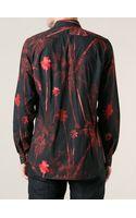 Paul Smith Palm Print Shirt - Lyst
