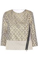 Schumacher Glam Rock Jacquard Top - Lyst