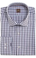 Peter Millar Check Woven Dress Shirt - Lyst