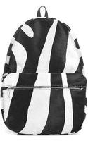 Topshop Zebra Backpack by Marquesalmeida X - Lyst