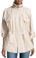Catherine Catherine Malandrino Twill Pocket-detail Jacket - Lyst