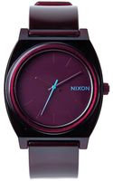 Nixon Time Teller P Bordeaux-red Watch - Lyst