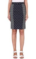 French Connection Mosaic-print Pencil Skirt - Lyst